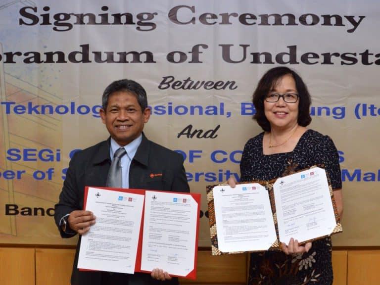 Penandatanganan MoU antara Itenas dan SEGi Group of Colleges – Malaysia
